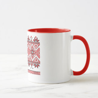 Tasse ukrainienne d'ornement