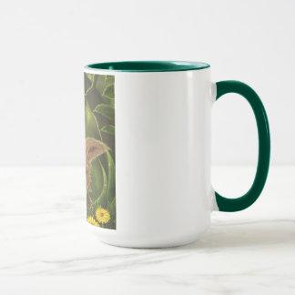 tasse verte de jungle