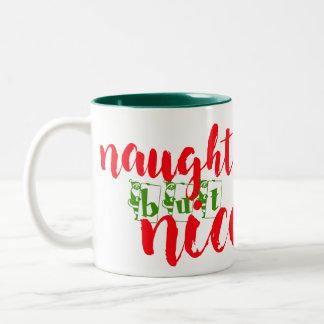 tasse vilaine mais intéressante de père Noël de