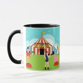 Tasse vintage de cirque