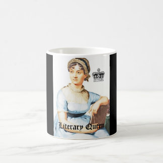 Tasse vintage littéraire de Jane Austen de tasse