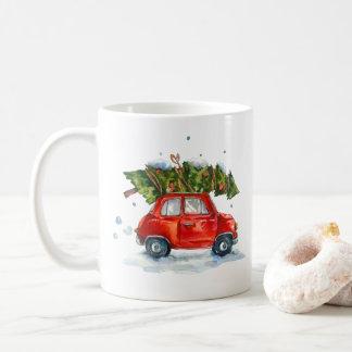 Tasse - voiture de Noël