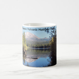 Tasse volcanique de parc national de Lassen