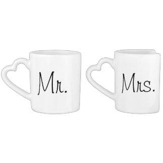 Tasses de café de nouveaux mariés !