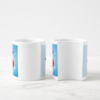 Tasses de café d'emboîtement - anniversaire