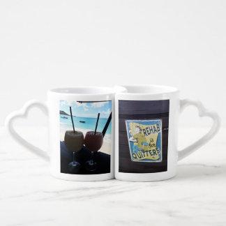 Tasses de café des Caraïbes de duo