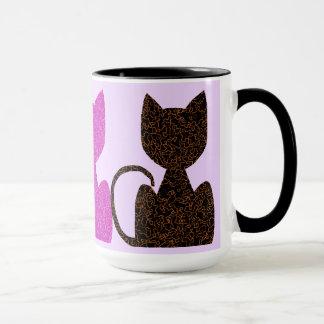 Tasses de café triples de CrystalKatz