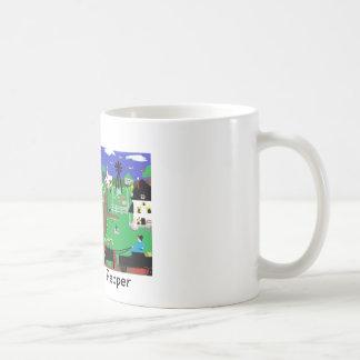 Tasses de café : Voyages avec le poivre le chat