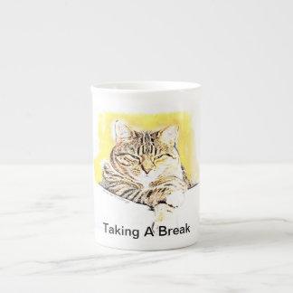 Tasses de chat par Carmel un CCDesigns Mug En Porcelaine