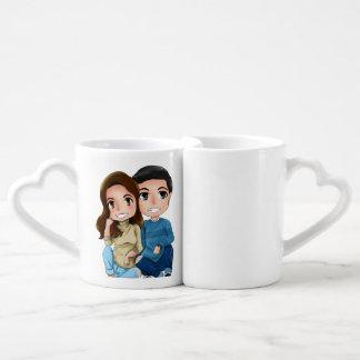 tasses de couples d'aldub