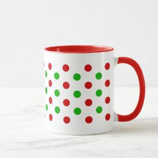 Tasses de pois de Noël