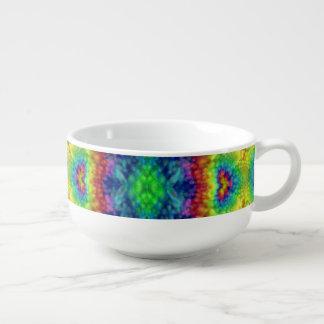 Tasses de soupe à kaléidoscope de ciel   de