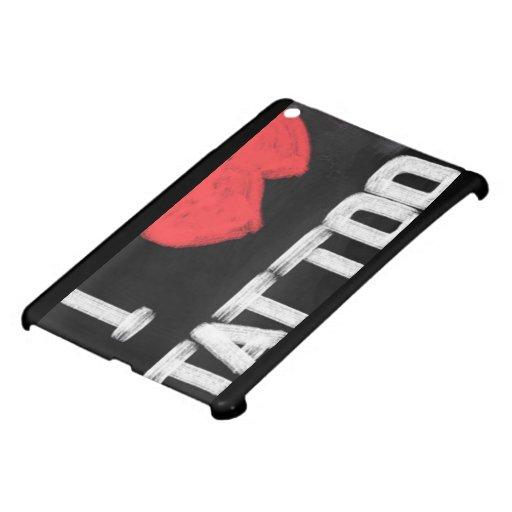Tatouage d 39 amour coques pour ipad mini zazzle - Tatouage amour perdu ...