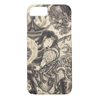 Tatouage japonais vintage classique frais d'encre coque iPhone 7