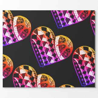 Tatouage Ombre de coeur de LineA Papier Cadeau