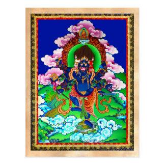 Tatouage tibétain oriental frais d'Ucchusma de Cartes Postales