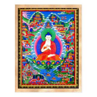 Tatouage tibétain oriental frais Mahavairocana de Carte Postale