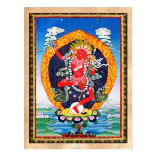 Tatouage tibétain oriental frais Vajravarahi de Carte Postale