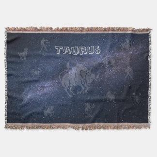 Taureau de signe de zodiaque couverture
