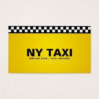Taxi - cartes de visite