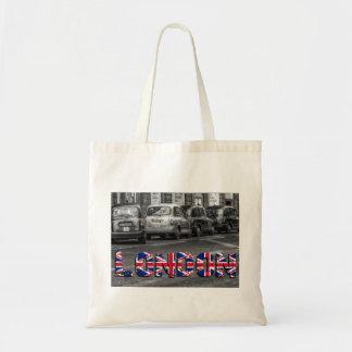 Taxi de Londres sac sac de jute cendre d'achat