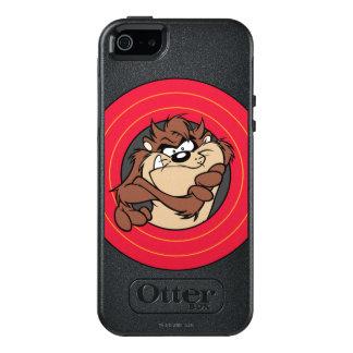 TAZ™ par les cercles LOONEY de TUNES™ Coque OtterBox iPhone 5, 5s Et SE