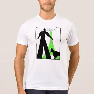 """Teckel à Paris"" de ZermenoGallery.com T-shirt"