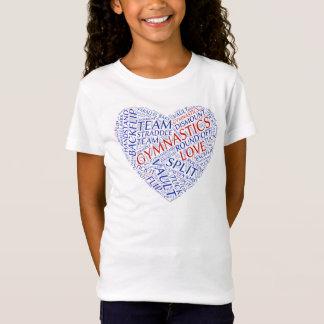 TEE - SHIRT D'AMOUR DE GYMNASTIQUE T-Shirt