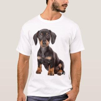 Tee - shirt de chiot de teckel d'amour t-shirt