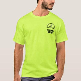 Tee - shirt de nom et de titre d'équipage t-shirt