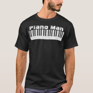 Tee - shirt de Piano Man T-shirt