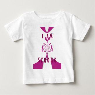 Tee - shirt de sein de conscience de cancer du t-shirt pour bébé