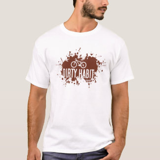 Tee - shirt sale de l'habitude MTB T-shirt