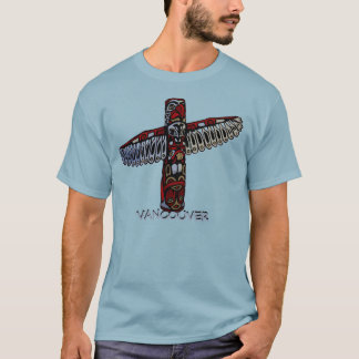 Tee - shirt unisexe du Canada de totem de chemise T-shirt