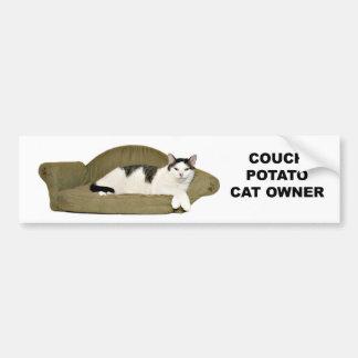 Téléphage de chat autocollant de voiture