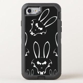 Téléphone blanc de J. Rabbit Logo Coque Otterbox Defender Pour iPhone 7