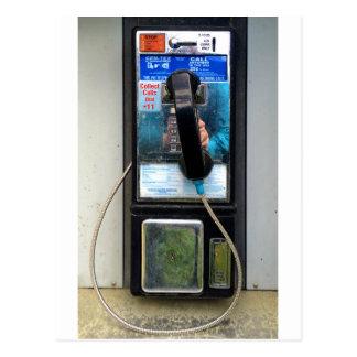 Téléphone payant carte postale