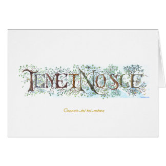 Temet Nosce - carte française