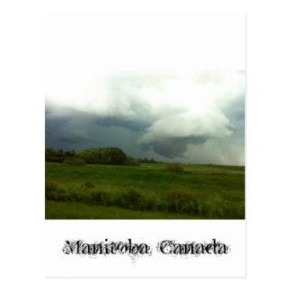 Tempêtes de Manitoba Carte Postale