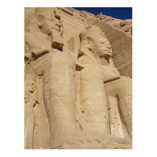 Temple d'Abu Simbel Carte Postale