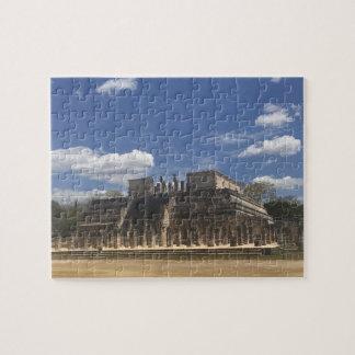 Temple de Chichen Itza du puzzle des guerriers #4