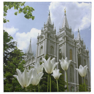 Temple de LDS Salt Lake City Serviettes En Tissus
