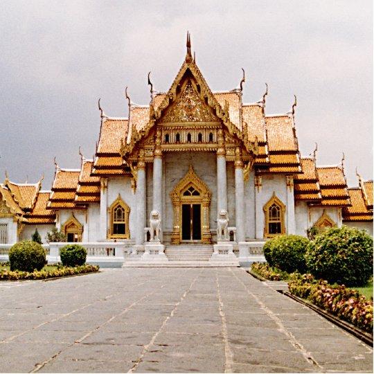 Temple de marbre de lion Photosculpture de Khmer Photo Sculpture