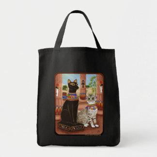 Temple de sac d'art de chat de déesse de filasse