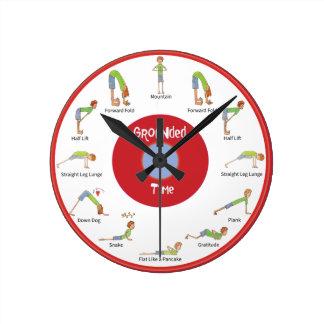 Temps au sol : Horloge d'écoulement de la terre