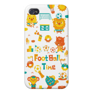 temps du football iPhone 4 case