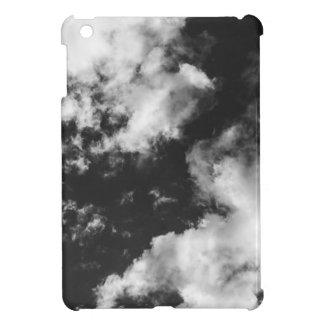 Temps nuageux noir et blanc étui iPad mini