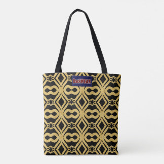 Tendance moderne de sac de beau concepteur d'or