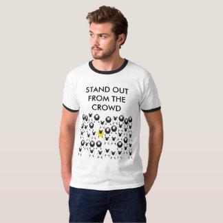 Tenez-vous du T-shirt de foule