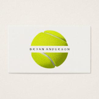 Tennis - carte de visite personnel